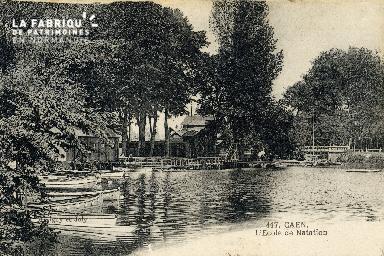 Caen, école de natation 02