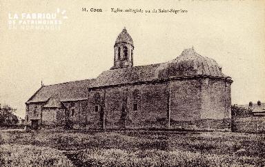 Caen, église collégiale ou du Saint-Sépulcre