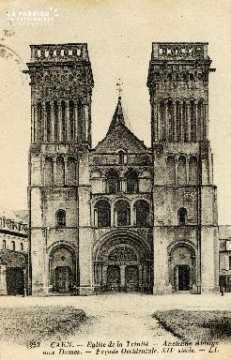 Caen, église de la Trinité (ancienne Abbaye aux Dames)