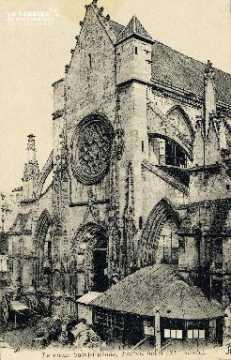 Caen, église du Vieux Saint-Etienne (portail ouest)