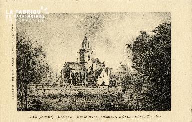 Caen, église du Vieux Saint-Etienne (XVè siècle)