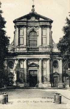 Caen, église Notre-Dame