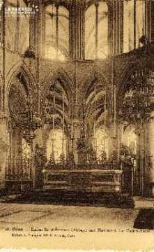 Caen, église Saint Etienne