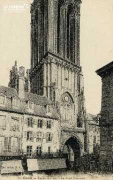 Caen, église Saint-Jean et Tour Penchée 02