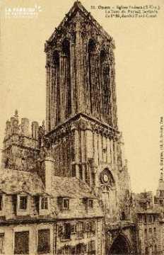Caen, église Saint-Jean, la tour du Portail