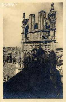 Caen, église Saint-Jean, tour centrale