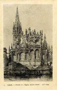 Caen, église Saint-Pierre (abside) 01
