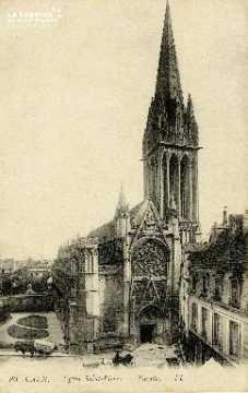 Caen, église Saint-Pierre (façade)