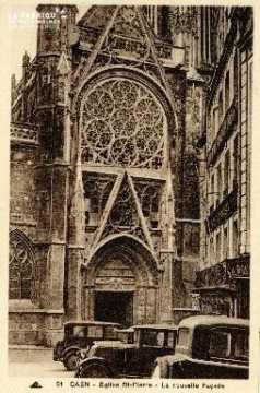 Caen, église Saint-Pierre (nouvelle façade)