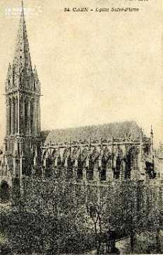 Caen, église Saint-Pierre