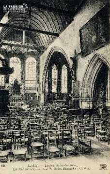 Caen, église Saint-Sauveur (nef principale, dite de Saint-Eustache)