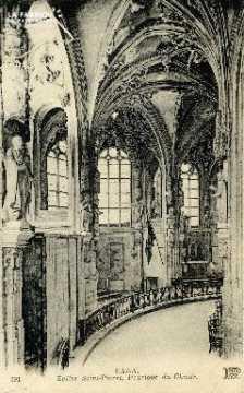 Caen, église Saint-Sauveur (pourtour du choeur)