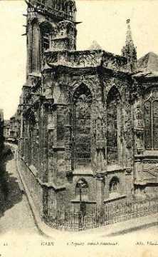 Caen, église Saint-Sauveur