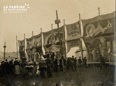 Camp de Cormelles, cirque de Barnum, 1902