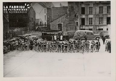 Course de vélo
