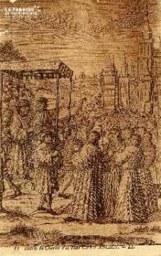 Entrée de Charles VII dans Caen Ancien