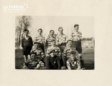 Equipe de football, UFA contre Colombelles 1933