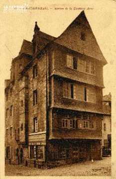 Landerneau, maison de la Duchesse Anne