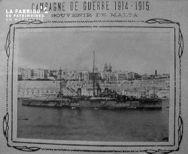 Affiche comémorative de la 1ère guerre