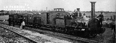 Train de voyageurs (loco 021)