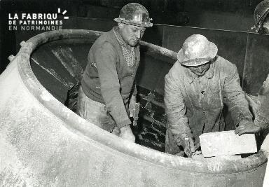 Acierie, Société métallurgique de Normandie