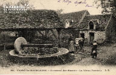 Tessé-la-Madeleine - Normand des Buards - Le vieux pressoir