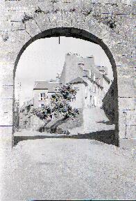Granville E porte de la vieille ville