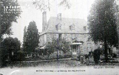 Precey E Le château des Hauts Courts