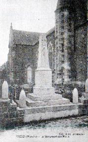 Precey E Le monument aux morts