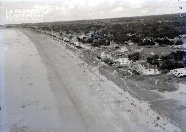 Saint Pair C Vue aérienne de la plage 1