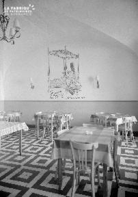 B007 Granville caserne salle à manger sous-officiers