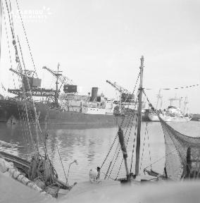 B007 Granville Navires à quai