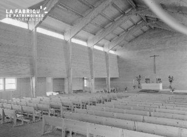 B009 Donville, église Notre-Dame-de-Lourdes 1960 2