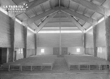 B009 Donville, église Notre-Dame-de-Lourdes 1960 3