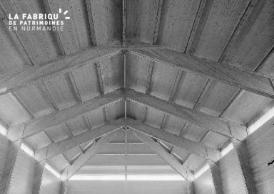B009 Donville, église Notre-Dame-de-Lourdes 1960 5