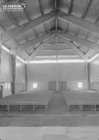 B009 Donville, église Notre-Dame-de-Lourdes 1960 6
