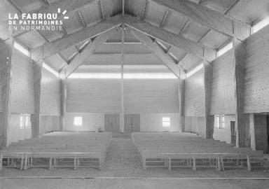 B009 Donville, église Notre-Dame-de-Lourdes 1960 7