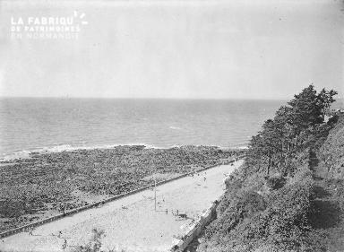 B009 Granville vue sur la plage