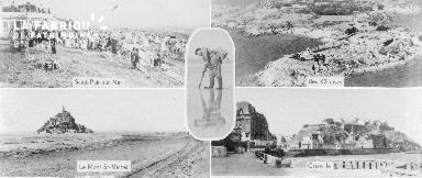 B009 montage St Pair, Chausey, Mont-St-Michel, Granville