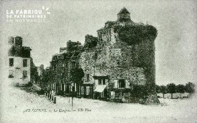 B010 Avranches, donjon