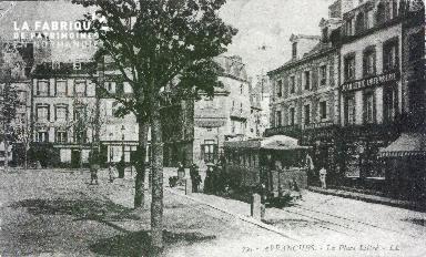 B010 Avranches, Place Littré 2