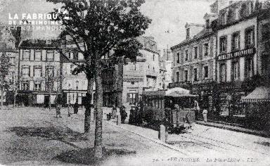 B010 Avranches, Place Littré