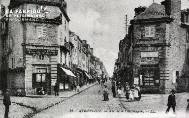 B010 Avranches, rue de la Constitution