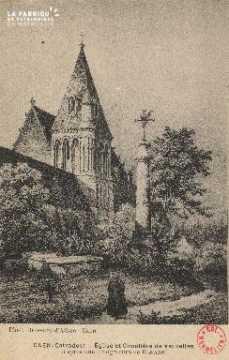 cl 01 007 Caen-Eglise et cimetière de Vaucelles