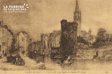 cl 01 010 Caen-tour du landais et saint Pierre