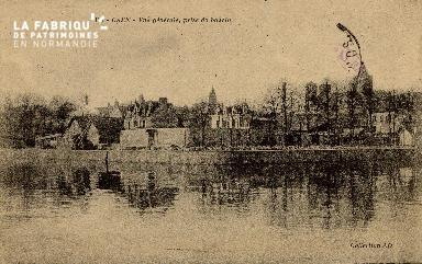 cl 01 013 Caen vue générale -prise du bassin