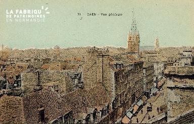 cl 01 015  Caen vue générale