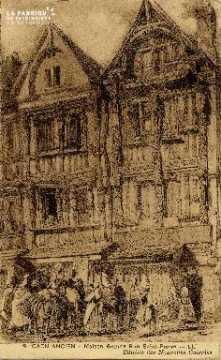 cl 01 016 Caen  maison grande rue saint-pierre