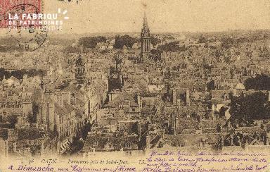 cl 01 029 Caen vue prise de St Jean