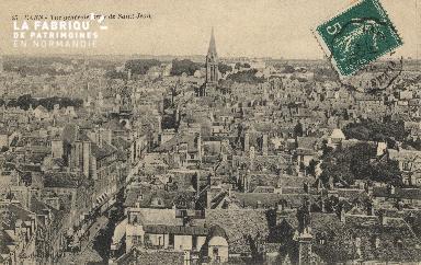 cl 01 030 Caen- vue générale prise de St Jean